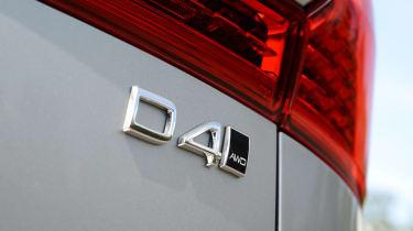 Volvo XC60 - D4 badge