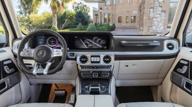 New Mercedes-AMG G 63 - interior