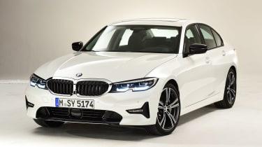 BMW 3 Series - studio front