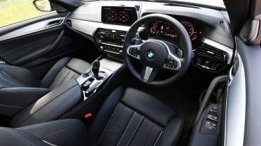 BMW 5 Series - dash