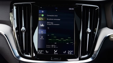 Volvo S60 - infotainment
