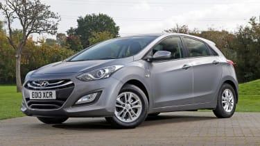 Used Hyundai i30 - front static