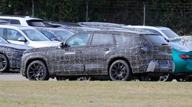 BMW X8 - spyshot 3
