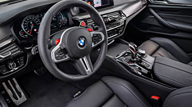 BMW M5 Competition - cabin