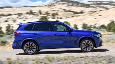 BMW X5 Competition - side