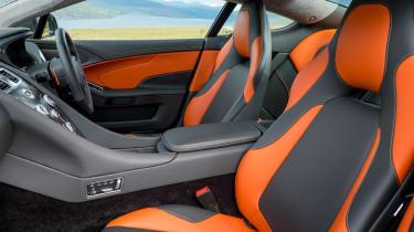 Aston Martin Vanquish 2014 seats