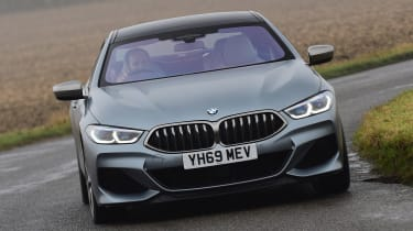 BMW M850i xDrive Gran Coupe - front cornering