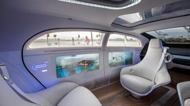 Mercedes F 015 interior