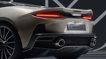 Mclaren GT MSO - rear shot