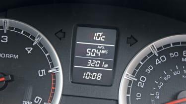 Suzuki Swift dials