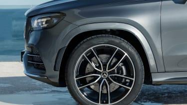 Mercedes GLS - grey wheel