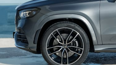 Mercedes GLS - grey wheel