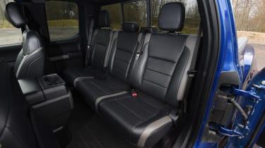 Ford F-150 Raptor pick-up truck - back seats