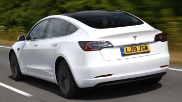 Tesla Model 3 -  rear tracking