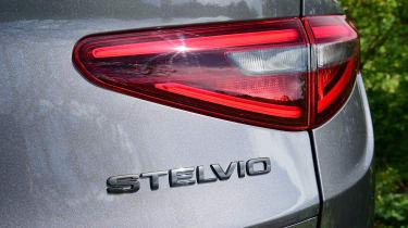 Alfa Romeo Stelvio Nero Edizione - rear lights