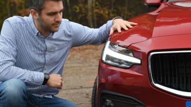 Volvo V60 - long termer first report headlights