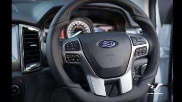 M-Sport Ford Ranger - steering wheel