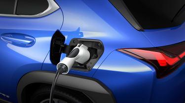 Lexus UX 300e - charging studio