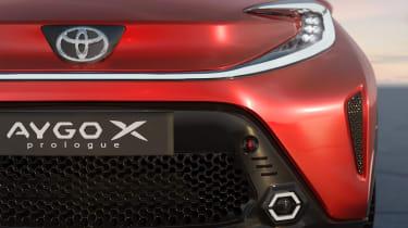 Toyota Aygo X prototype - full front detail