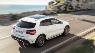Mercedes-AMG GLA 45 2017 - rear tracking