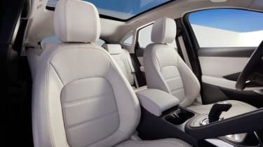 Jaguar E-Pace - front seats