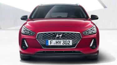 Hyundai i30 Tourer - full front