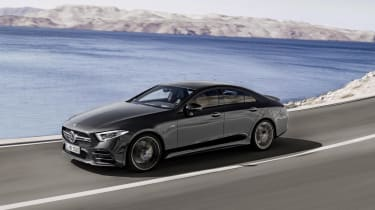Mercedes-AMG CLS 53 driving