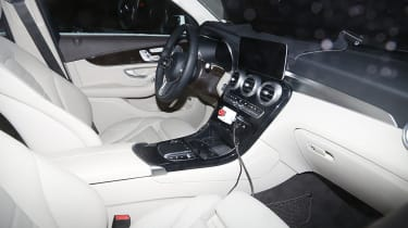 Mercedes GLC facelift interior