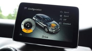 Mercedes GLA - infotainment