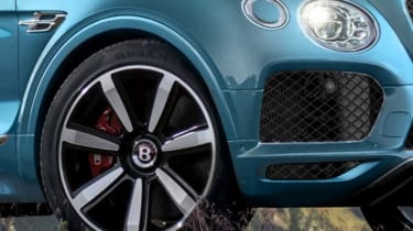 Bentley Bentayga coupe SUV - rendering detail