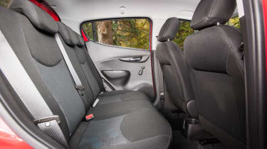 Vauxhall Viva Rocks - rear seats