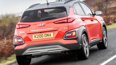Hyundai Kona review - rear tail-gate