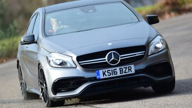 Mercedes-AMG A 45 - front cornering