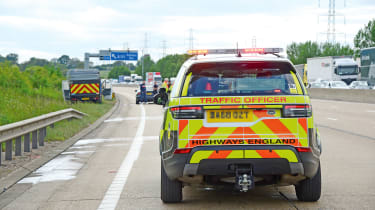 Highways England - Discovery rear