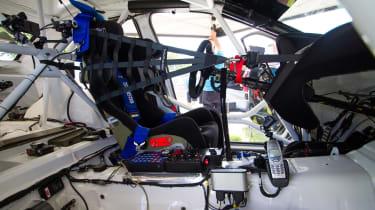 Subaru WRX STI - Isle of Man TT interior