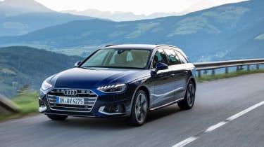 Audi A4 Avant 2019 driving