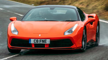 Top 5 greatest ever V8 Ferraris - Ferrari 488 GTB
