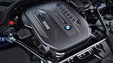New BMW 5 Series Touring - engine