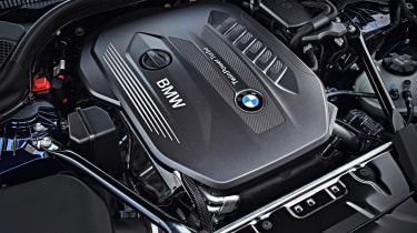 New BMW 5 Series Touring - engine