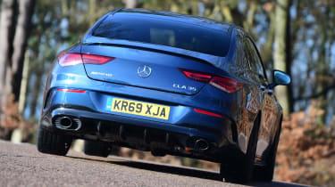 Mercedes-AMG CLA 35 - rear cornering