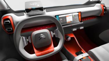 Citroen C-Aircross Concept 2017 - interior