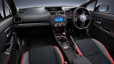 Subaru WRX STi Final Edition dashboard