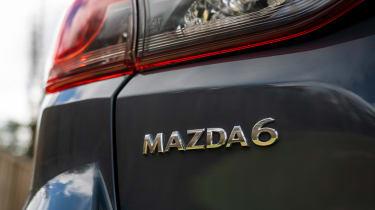 Mazda 6 Kuro Edition - rear badge