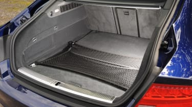 Audi S7 boot