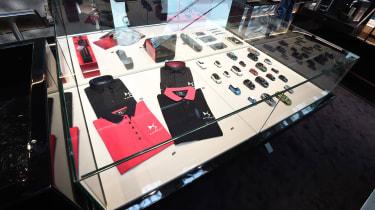 DS Westfield store - merchandise
