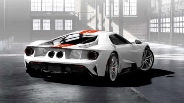 Ford GT Configurator - rear three quarter