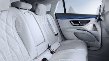 Mercedes EQS - rear seats