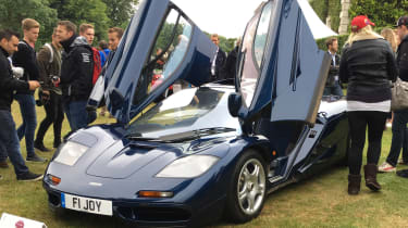 McLaren F1 - Goodwood front