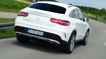 Mercedes GLE Coupe 2015 rear