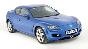 Mazda RX-8 front static